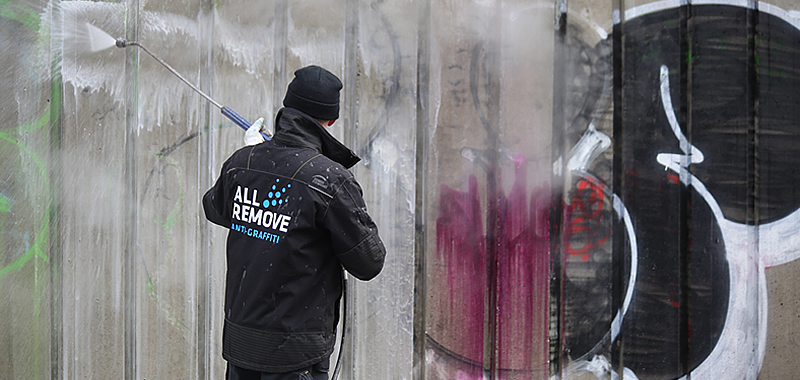 all remove historie begyndte med anti graffiti